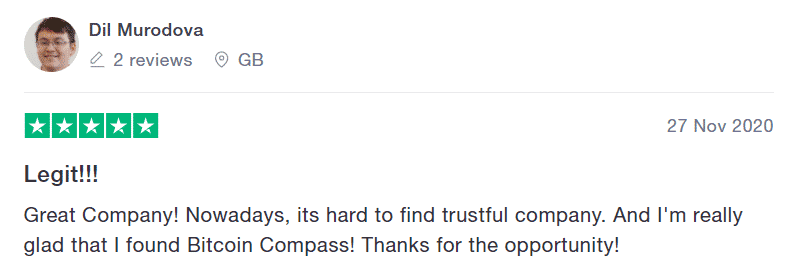 Bitcoin Compass review 2