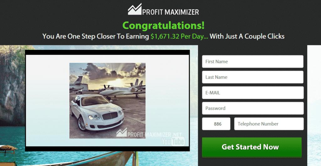 Profit Maximizer review