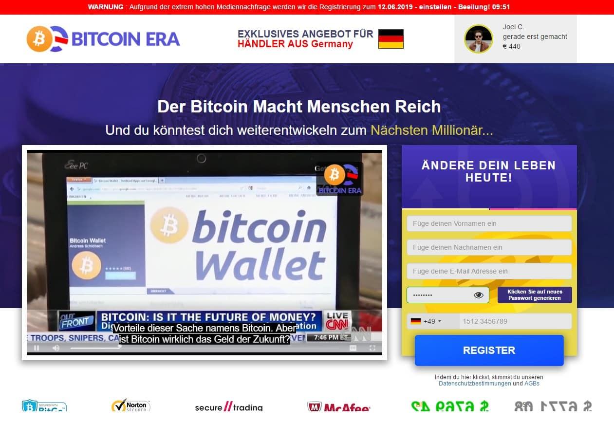 Bitcoin Era Erfahrungen