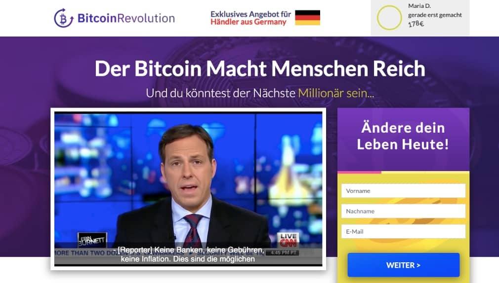 Bitcoin Revolution Erfahrungen
