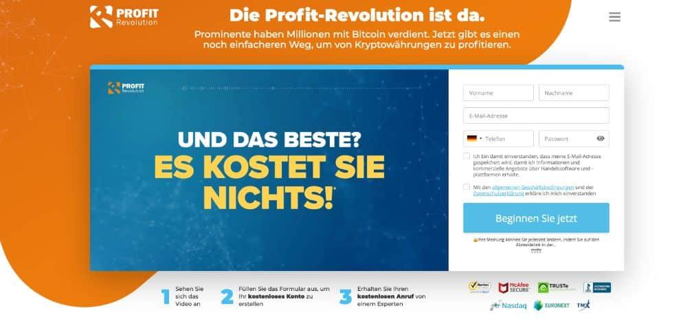 Profit Revolution Erfahrungen