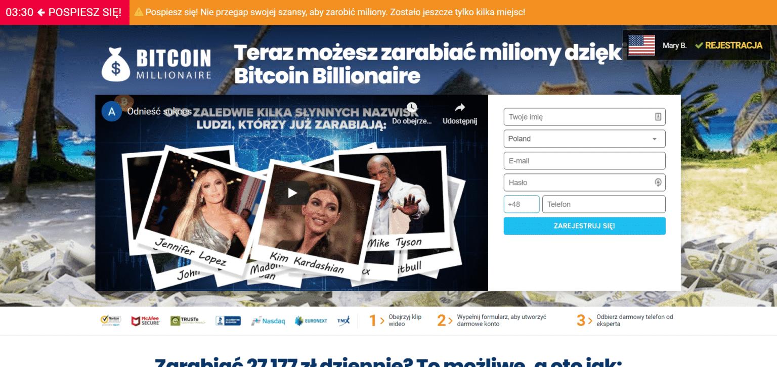 bitcoin billionaire opinie