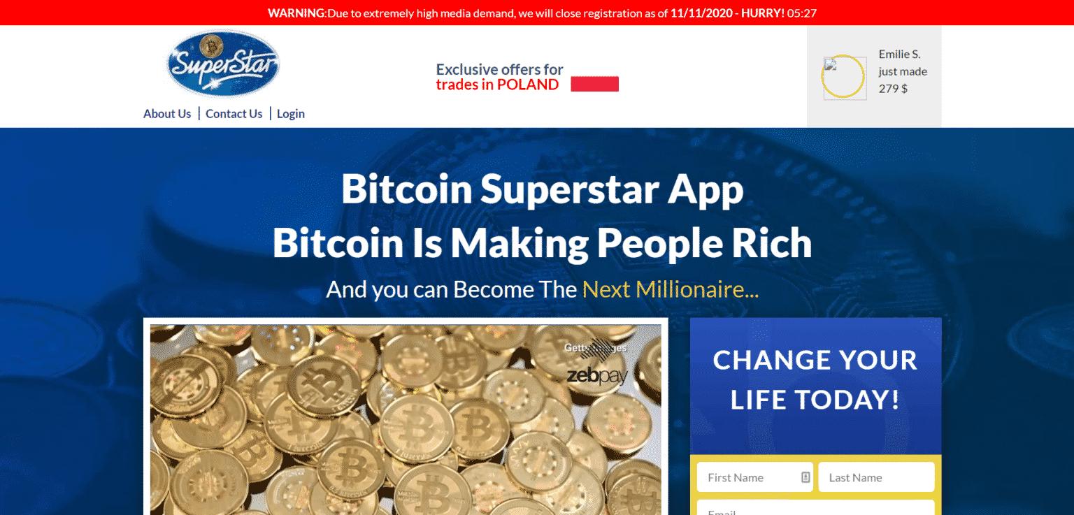 bitcoin superstar opinie