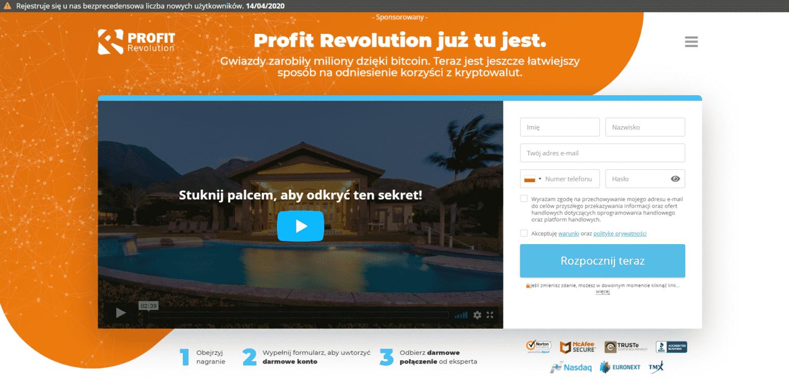 profit revolution opinie