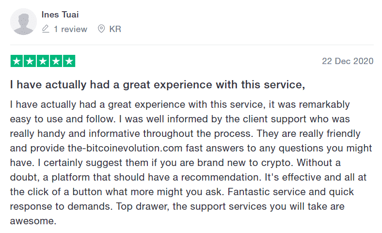 bitcoin Evolution review 3