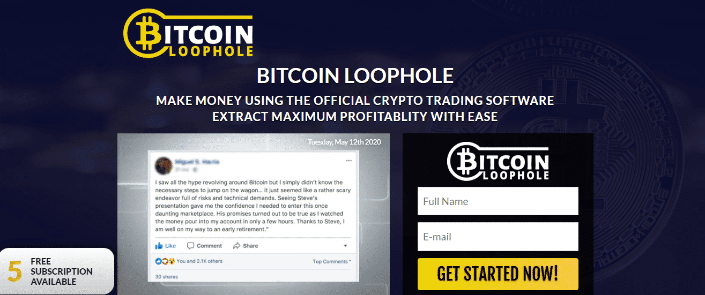 bitcoin loophole opinie