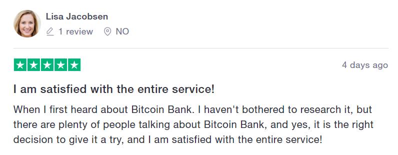 bitcoin bank review 2