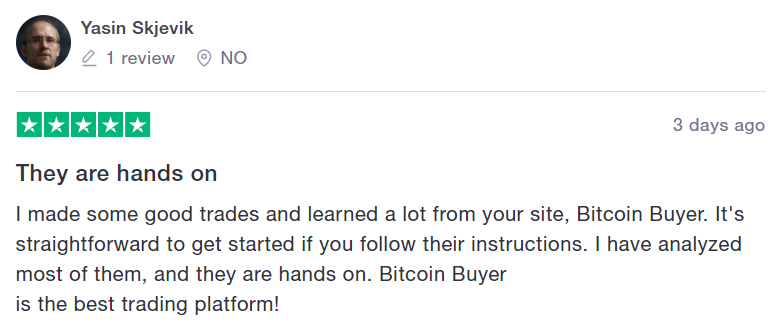 bitcoin buyer review 2