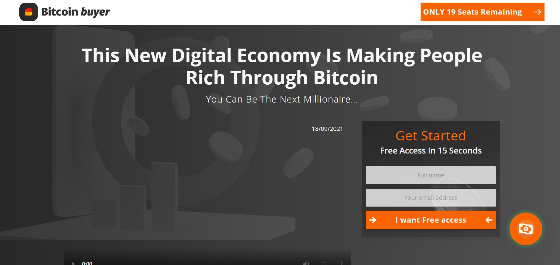 bitcoin buyer review register login