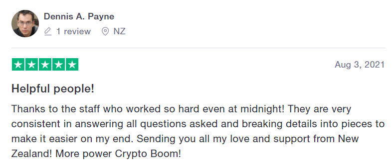 crypto boom review 2