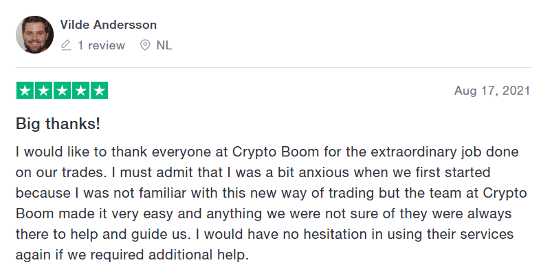 crypto boom review